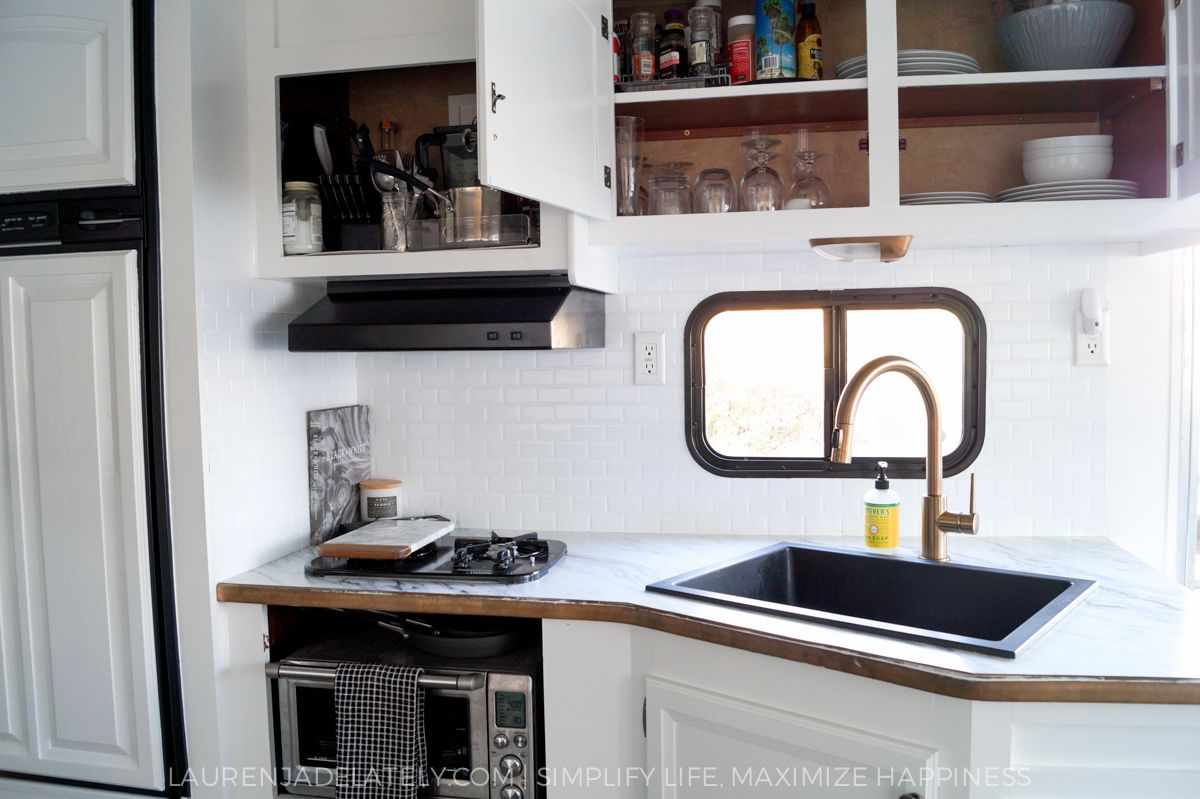 RV Kitchen Upgrades | Airstream remodel, Rv and Airstream