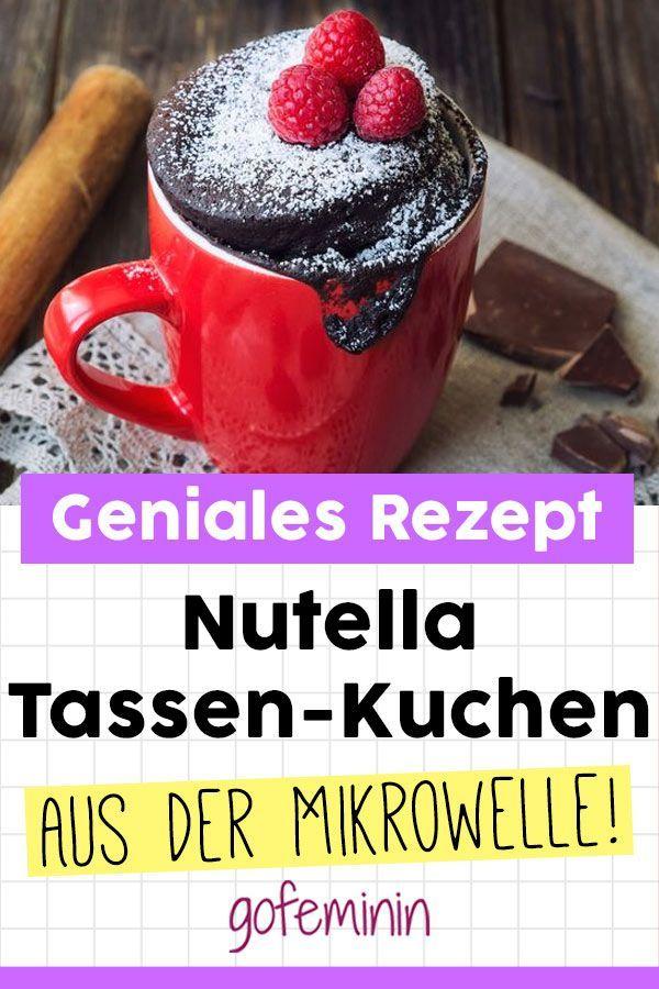 Geniales Rezept: Nutella-Kuchen aus der Mikrowelle