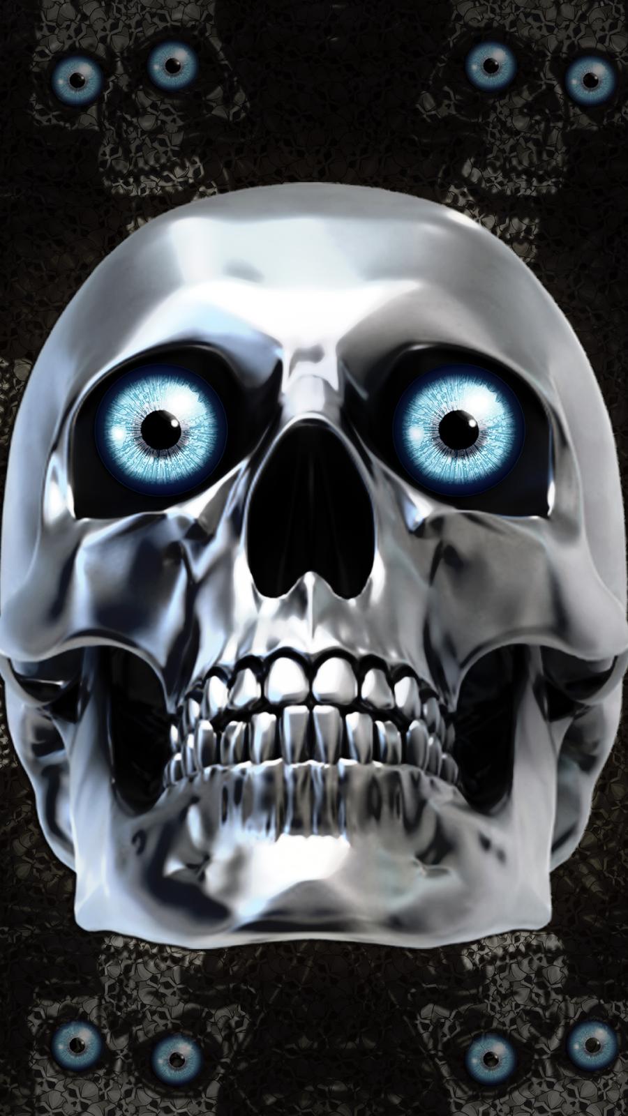 Skull HD Wallpaper For Mobile