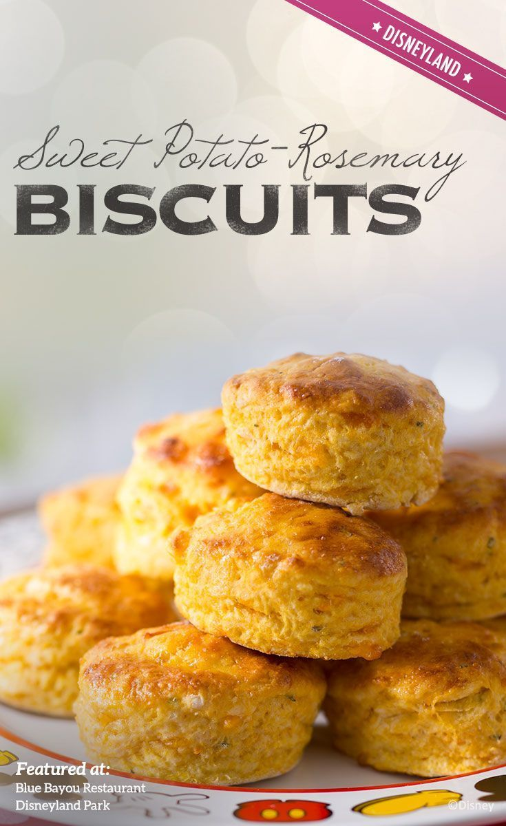 Recipe for Sweet Potato-Rosemary Biscuits from Blue Bayou ...