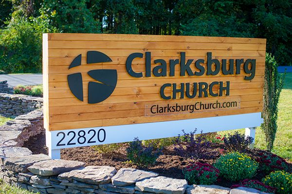Clarksburg Church Branding With Images Church Lobby Design