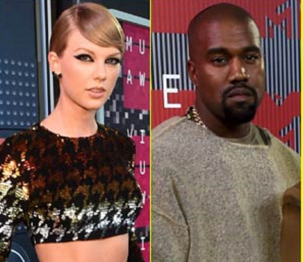 Taylor Swift Uses Infamous Imma Let You Finish Line While Presenting To Kanye West At Vmas 2015 Taylor Swift Vmas Kanye West