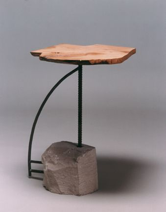 beautiful mix of materials, textures and forms // Table  - Christopher Joyce