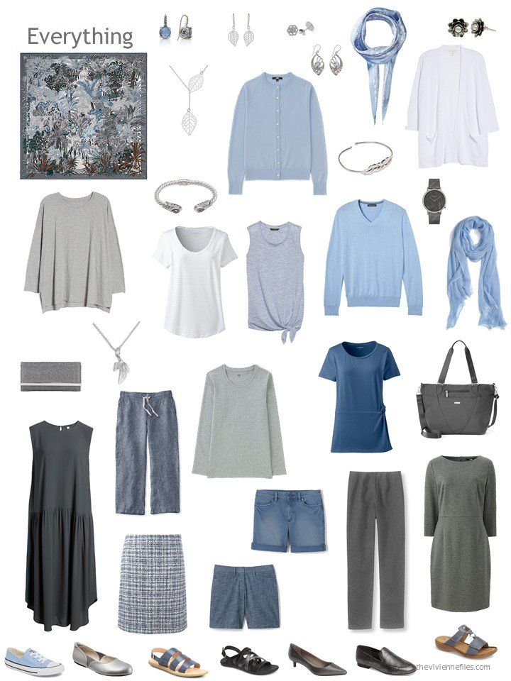 Build a Capsule Wardrobe in 12 Months, 12 Outfits   July 2018 is part of Capsule outfits, Capsule wardrobe mom, Summer capsule wardrobe, Winter capsule wardrobe, Capsule wardrobe 2018, Capsule wardrobe - It's hard to believe that these wardrobes are more than halfway completely   where does the time go  For July, I'm going to assume that summer is in full swing, and that our heroine could use a couple of easy outfits to wear in the heat  Of course, if you don't wear shorts, a skirt, […]