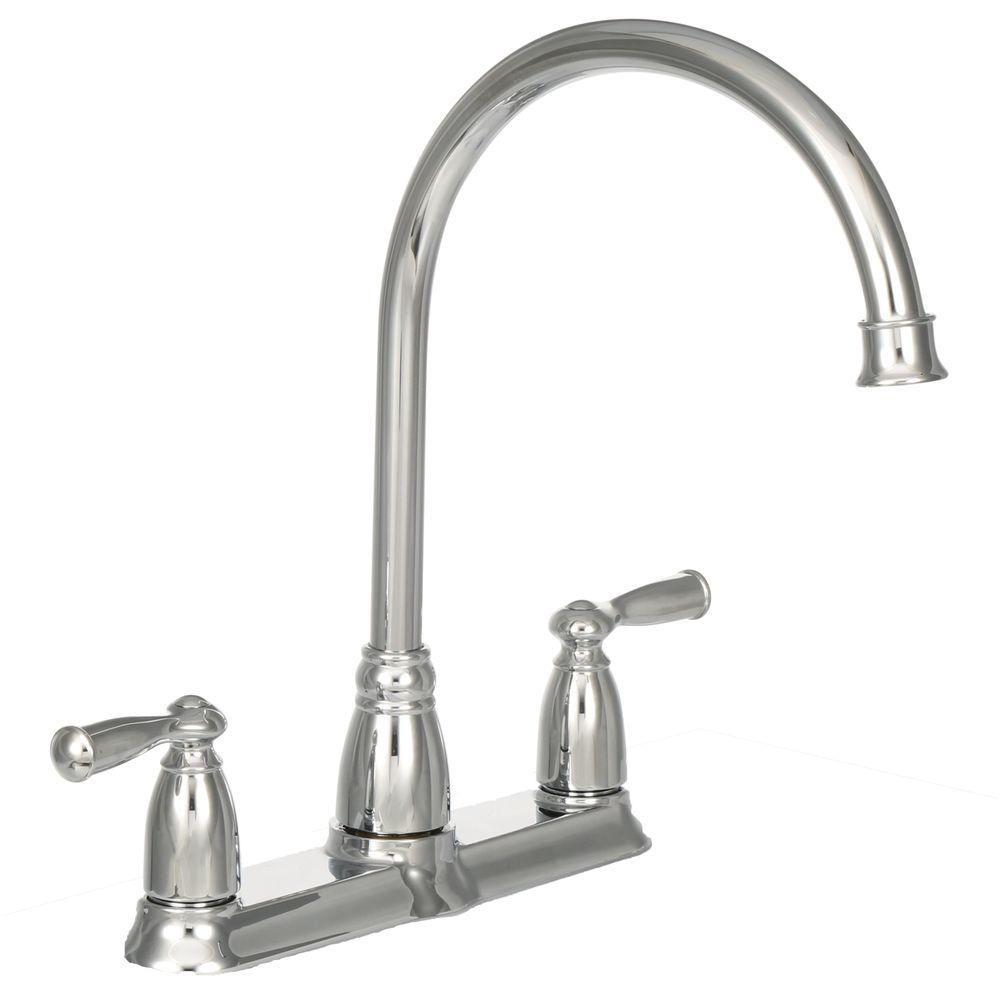 moen banbury high arc 2 handle standard