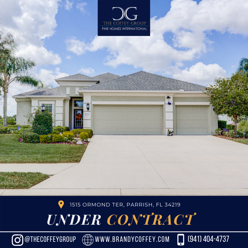 UNDER CONTRACT! 1515 Ormond Ter, Parrish, FL 34219 in 2020
