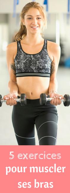 5 exercices pour muscler ses bras   Muscler les bras ...