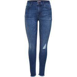 Only Onlblush Mid Ankle Skinny Fit Jeans Damen Blau Onlyonly #boyfriendtattoos