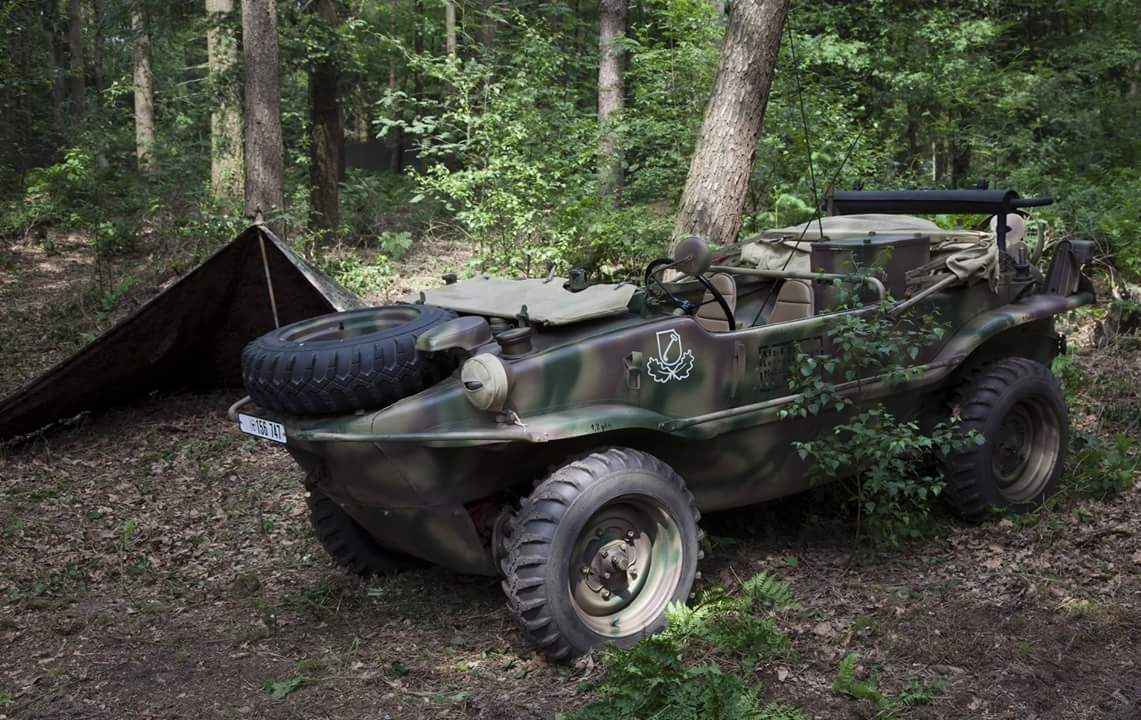 Vw Typ 166 Schwimmwagen Folksvagen