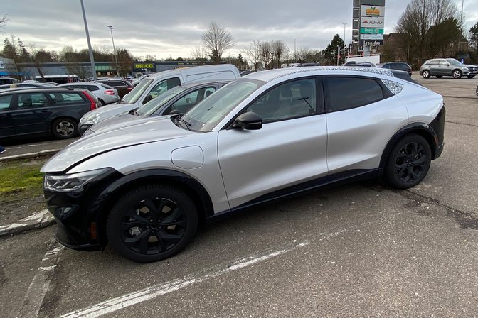 Spotted In Belgium Iconic Silver Mach E Prototype Ford Mustang Mach E Forum Macheforum Com In 2020 Belgium Icon Mustang