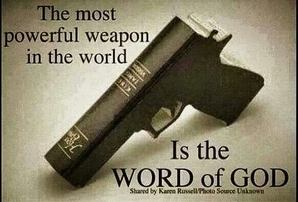 The most powerful weapon in the world