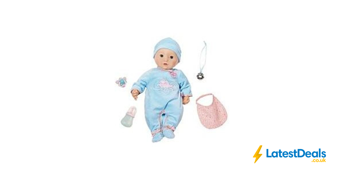 Baby Annabell Alexander Doll Free C&C, £39.99 at Very ...