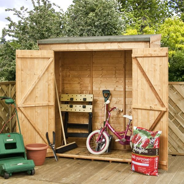 6 x 26 waltons tongue and groove modular pent garden storage shed