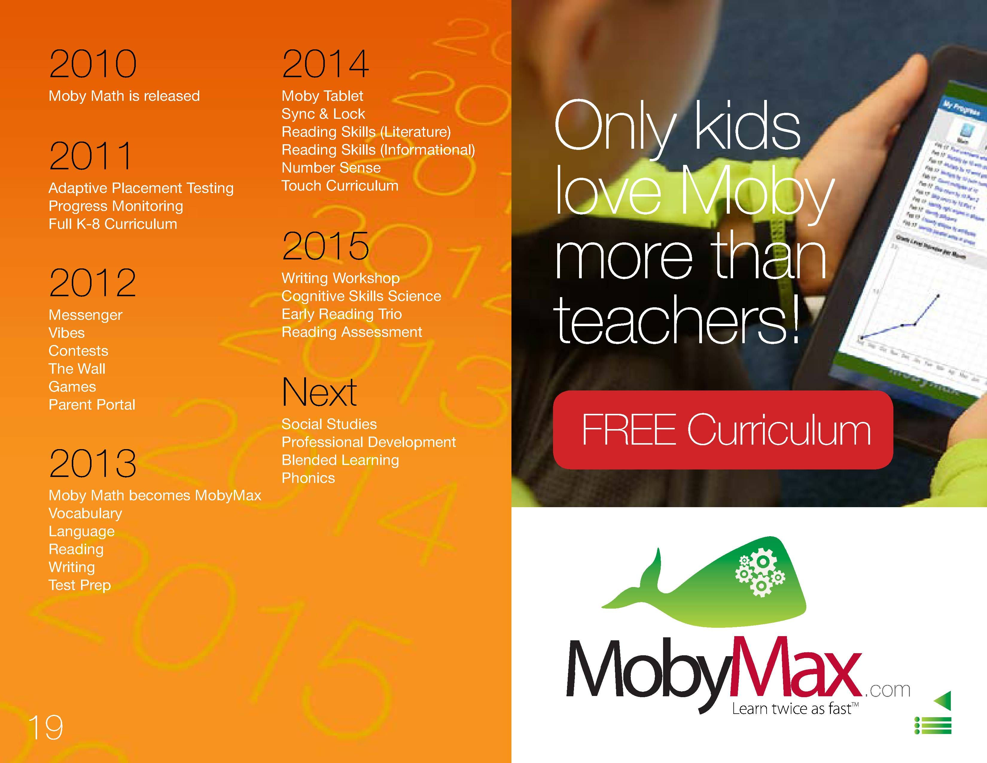 We're always growing at MobyMax! Take a look at what's in