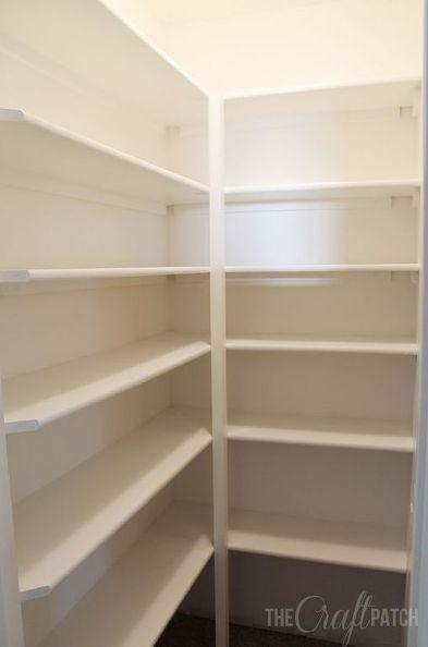 How To Build Pantry Shelves Pantry Shelving Diy Pantry Shelves