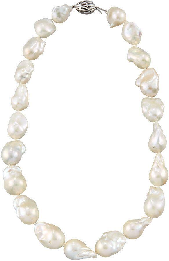 Belpearl 14k Freshwater Pearl Necklace k7Pj9w0LIh