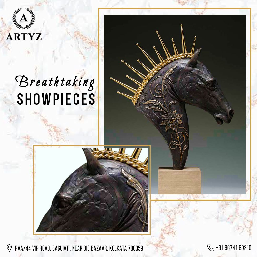Take home a piece of art when you choose from an exclusive showpieces collection from the house of Artyz!  #showpiece #modernism #showcase #finefurniture #furnituredesign #contemporaryfurniture #customizedfurniture #modernfurniture #furnituremaker #furnituredesigner #homedecor #interiors #decoratingideas #interiordesign #designtrends #interiordesigninspiration #livingroomideas #Artyz