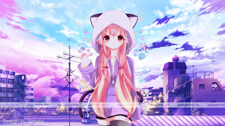 Anime Girls Wallpapers Full HD Cute anime wallpaper, Hd