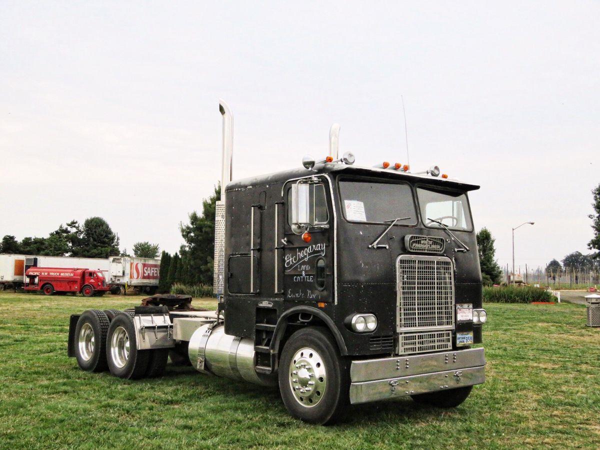 1974 White Freightliner Cabover Freightliner Trucks Freightliner Trucks