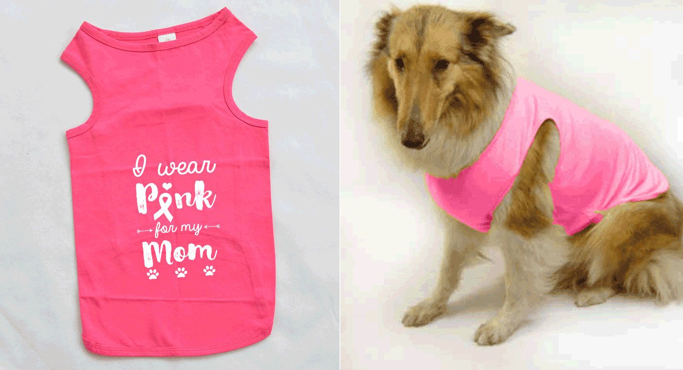 5a38b8d2e Breast Cancer Awareness Shirts For Dogs – EDGE Engineering and ...