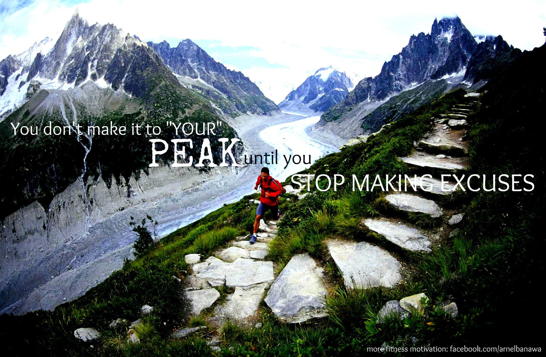 Envision your PEAK, then MAKE IT HAPPEN.