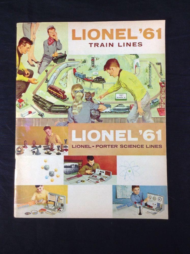 1961 Lionel Trains Catalog Vintage Toy Railroad Lionel