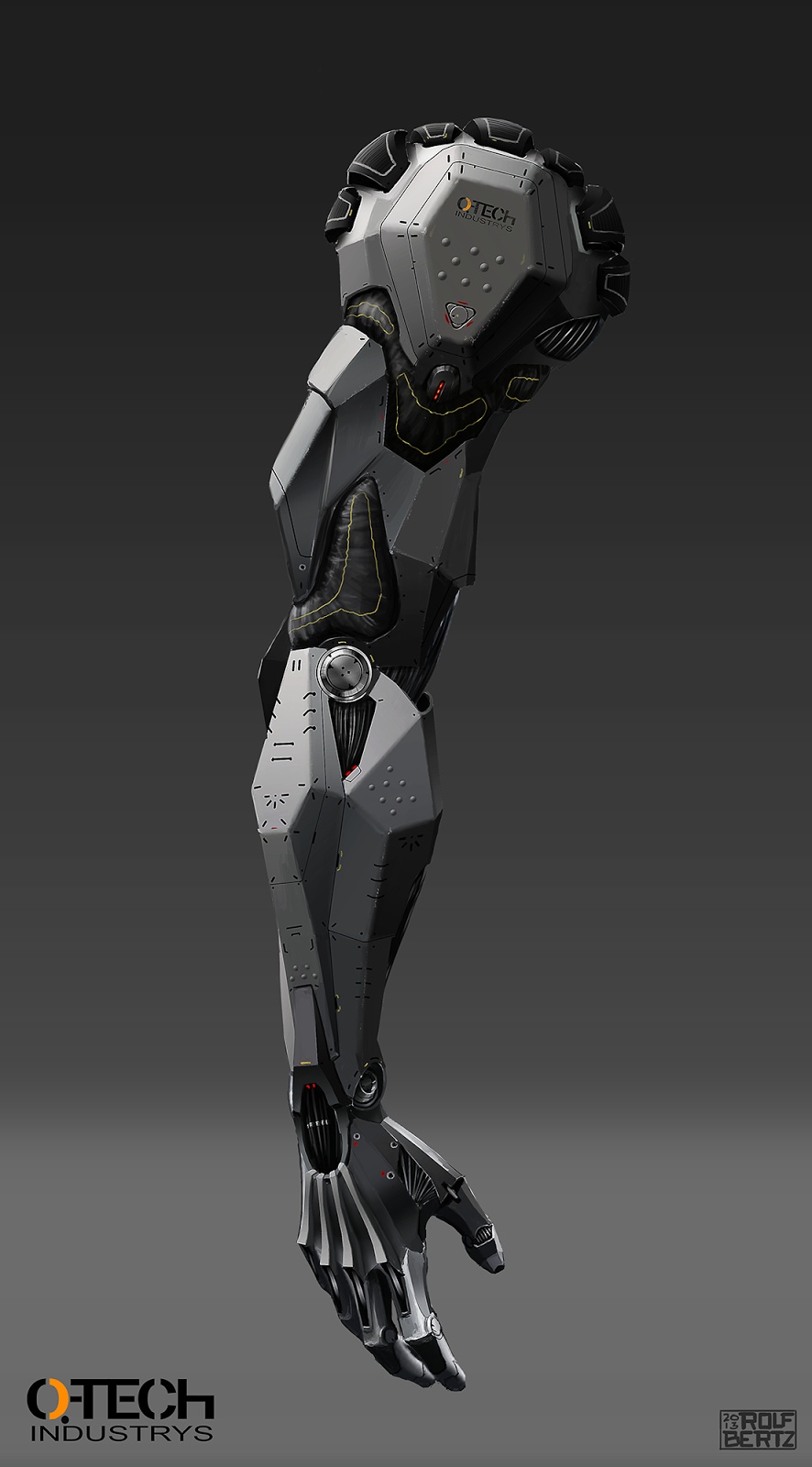 rolf bertz 39 s infantery mech hand cyberarms pinterest roboter konzept kunst und r stungen. Black Bedroom Furniture Sets. Home Design Ideas