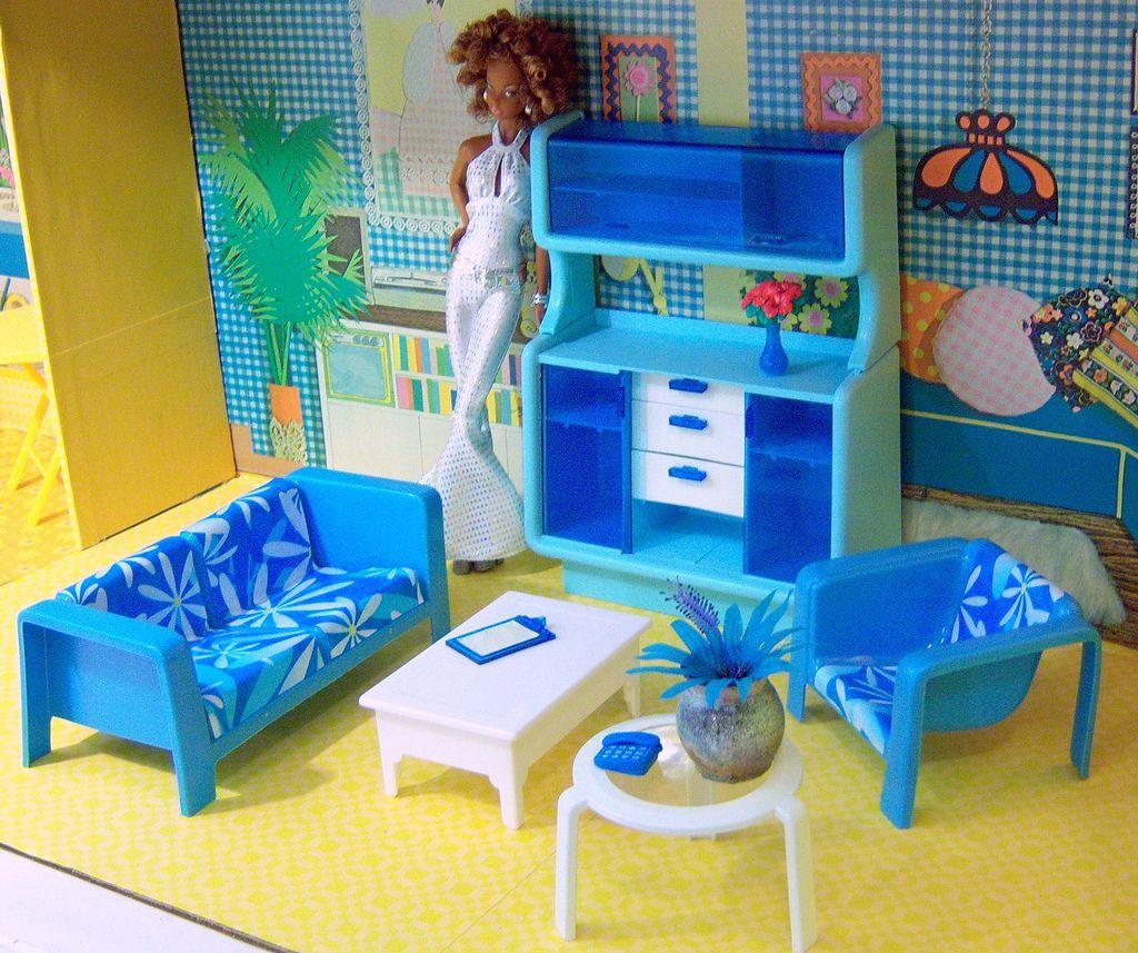 Barbie Diorama, Barbie Furniture, Barbie