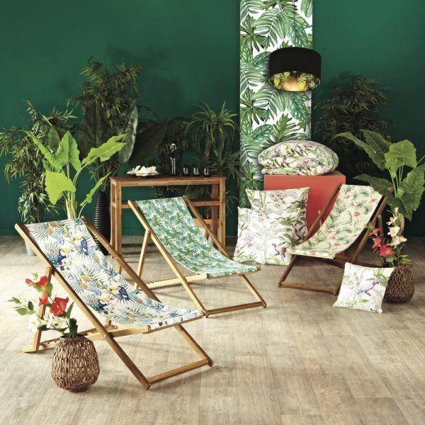 Des chiliennes pour une sieste au jardin | HOME | Tropical, Decor et ...