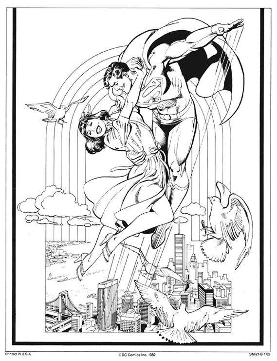 Superman and Lois Lane by José Luis García-López from the