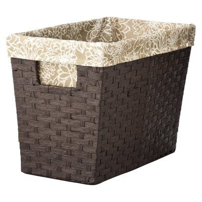 "Target Home Paper Rope Magazine Basket - $12.99 - 10.0 "" H ..."