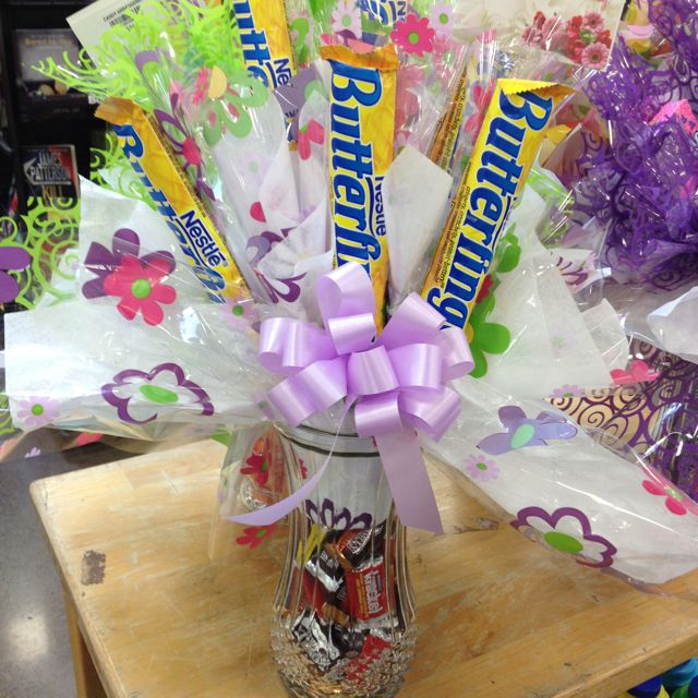 Candy Vase Gift Idea Interesting Crafts And Other Things I Find