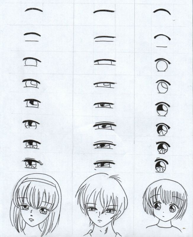 Tuto Dessin Manga Yeux Pinterest Dessin Manga Manga Et Tuto