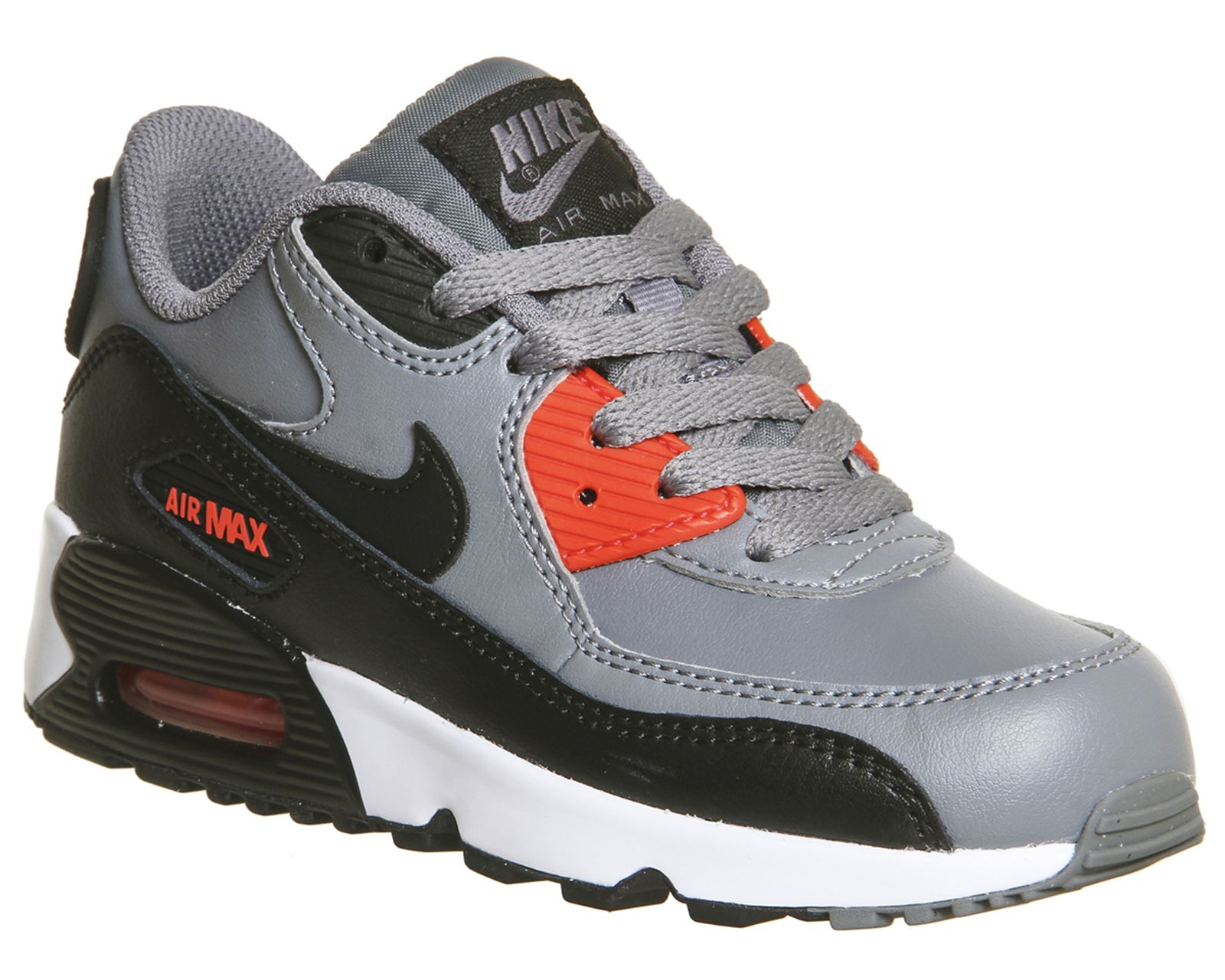 Nike Air Max 90 Ps Cool Grey Black Max Orange White - Unisex
