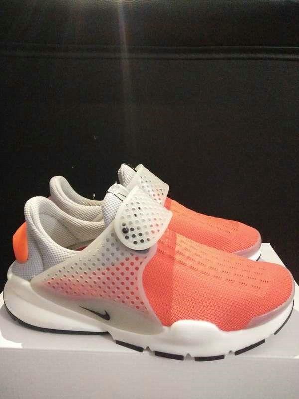 New 2017 Running Shoe Nike Sock Dart Oreo Slip On Tech Fleece Total Orange Max Orange Gamboge TopDeals
