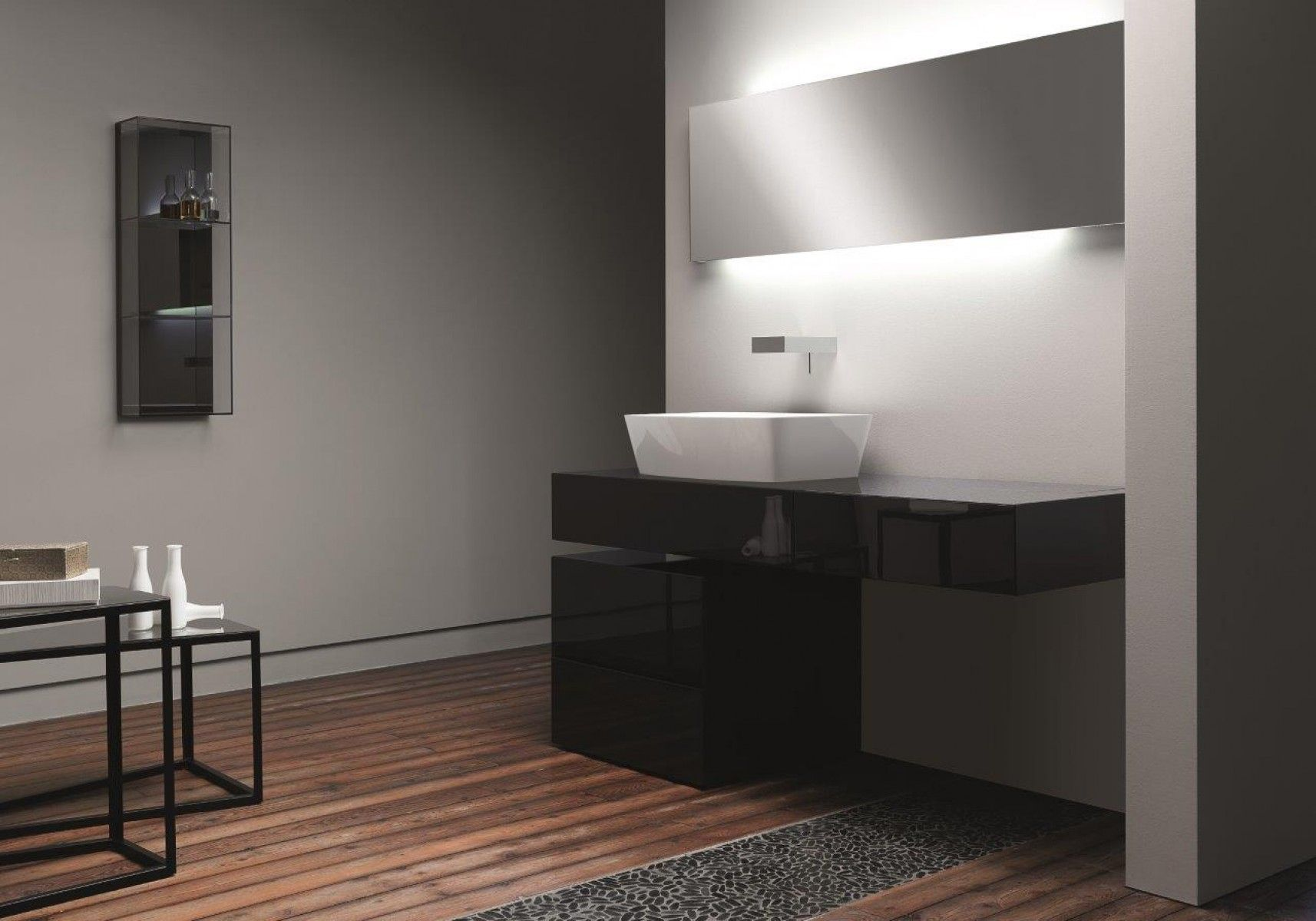 Gloss Vanity Unit  Bathroom   Pinterest  Vanity Units Pleasing Ultra Modern Bathroom Designs 2018