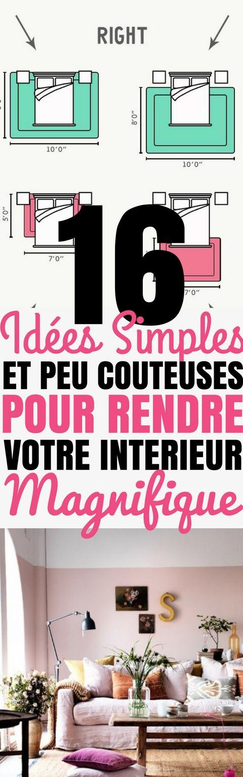 16 idées Simples et Peu Coûteuses pour rendre votre intérieur - cree ta propre maison
