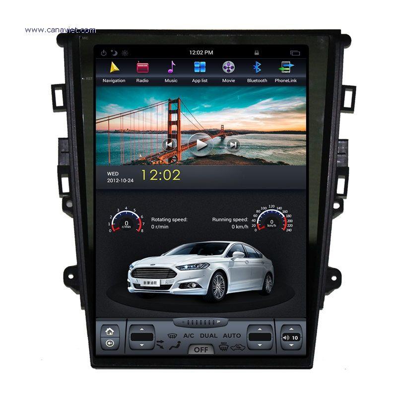 Android Autoradio Car Multimedia Stereo Gps Navigation Dvd Radio Audio Head Unit Sat Nav Ford Mondeo Mk5 2013 2014 2015 2016 2017 Autoradio Ford