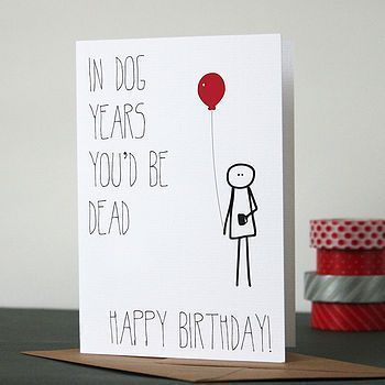 Valentines Day Gift Ideas PinWire: Birthday Card Ideas : If you were a dog birthday card | funny diy cards ... 17 mins ago - Funny Love / Valentines Card Get them with this fun between the lines card! This greeting card is: - Blank Inside - A2 size (4.25 x 5.5) - 100% Recycled Heavy...  Source:ar.pinterest.com Results By RobinsPost Via Google #funnygifts