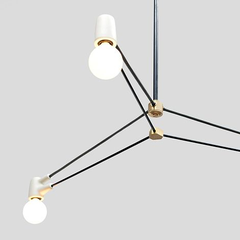 The Cord Chandelier series, by Brendan Ravenhill, is