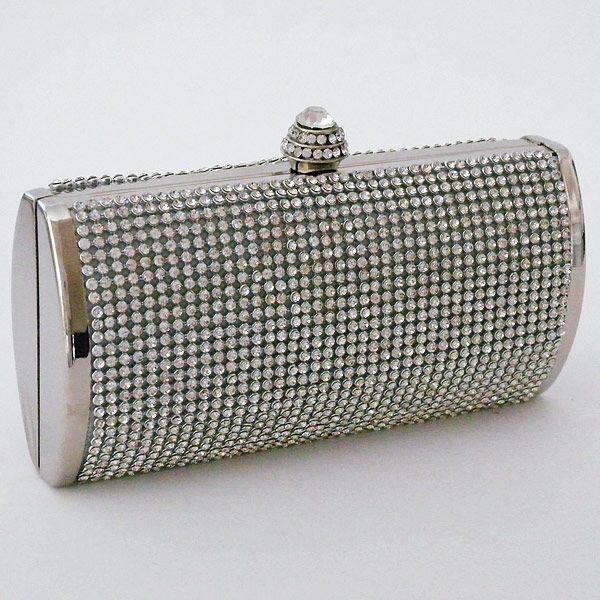 Rhinestone Covered Clutch | Evening bags, Party fashion and Bag