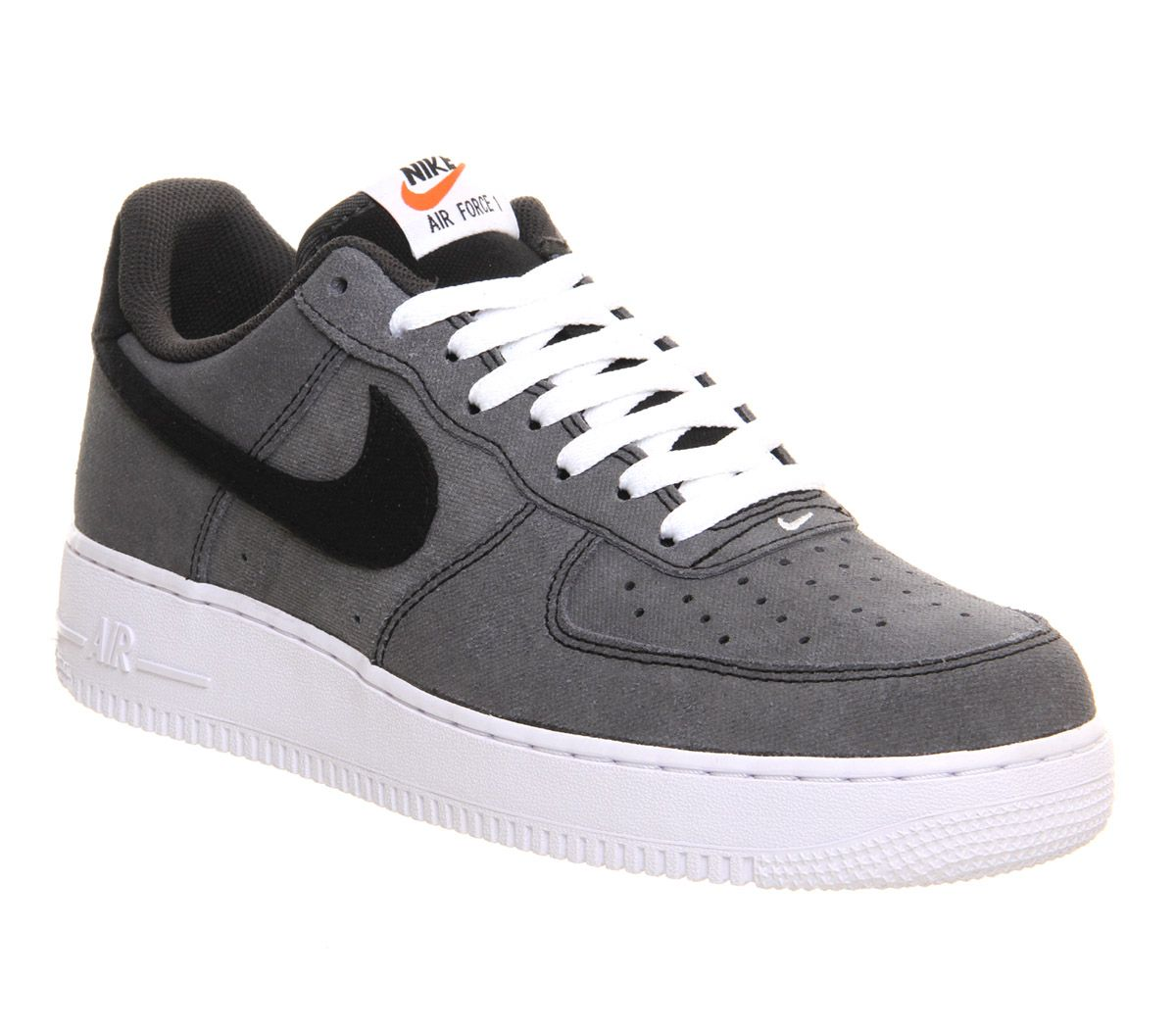Nike Sneakers Air Force 1 (m) Black White Anthracite