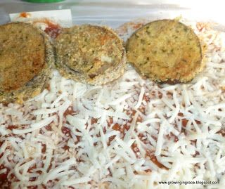 Growing in Grace: Egg Plant Parmesan