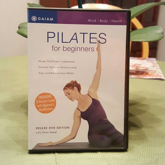 Pilates for Beginners 3 workout levels with beginner's modifications DVD. Like brand new! Gaiam Other