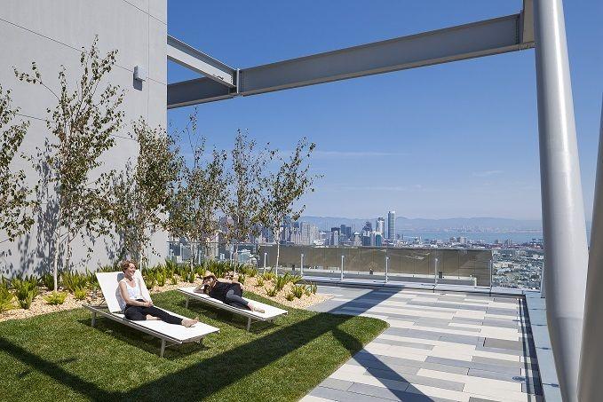 100 Van Ness Rentals San Francisco Ca Apartments Com Roof Garden Landscape Architecture Landscaping Inspiration