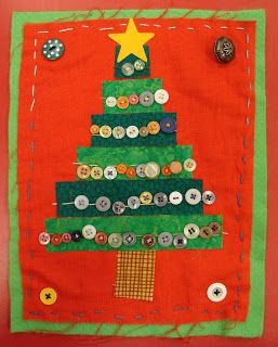 mrspicasso's art room: Country Christmas Trees