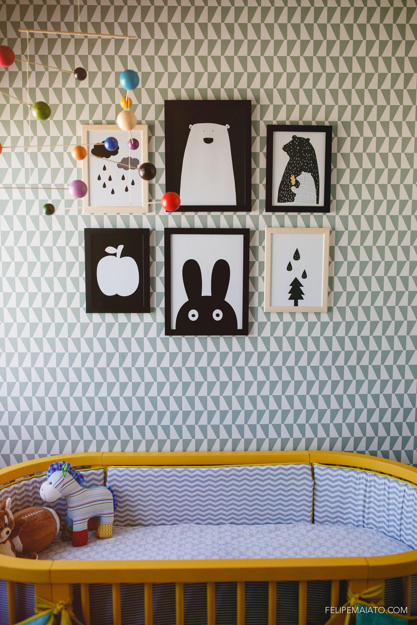 Elefante Design para Pequenos  Quarto do Vicente  dormitorio ben