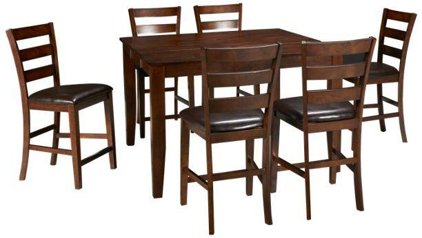 Intercon Kona Kona 7 Piece Dining Set Jordan S Furniture 7