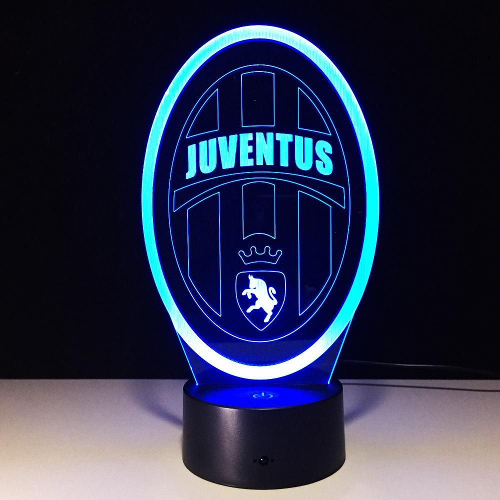 Italy Juventus Club Led Touch Lamp Football Sports Futbol Worldcup Livescore Fifa Mls Freekick Nike Goals Goal Soccer Cleats Boots Magista Ni