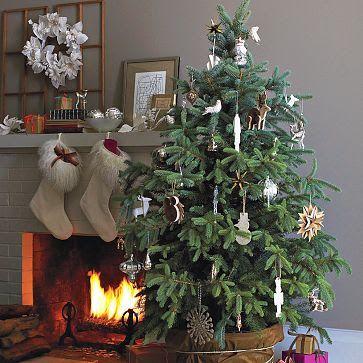 Explore Natural Christmas White Christmaore West Elm Tree